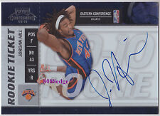 2009-10 PLAYOFF CONTENDERS ROOKIE TICKET AUTO: JORDAN HILL #107 AUTOGRAPH RC