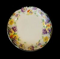 Beautiful Royal Doulton Art Deco Wild Pansy Pin Dish