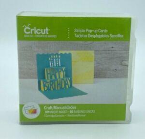 New Cricut Simple Pop-Up Cards Cartridge - 60 Unique Images