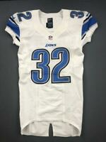 2012 Kevin Barnes Game Issued Detroit Lions Nike Football Jersey Used Maryland