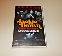 Jackie Brown VHS PAL Tarantino Big Box Ex Rental