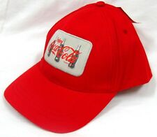 RED COCA COLA COCA-COLA COKE ADJUSTABLE HAT CAP 3 BOTTLE IMAGE