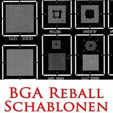 BGA REBALL REBALLING 51 HOCHWERTIGE SCHABLONEN STAHL REPARATUR NOTEBOOK 79x79mm