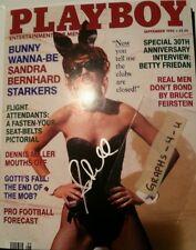 Sandra Bernhard Signed Autograph COA A