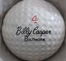 (1) BILLY CASPER BILTMORE SIGNATURE LOGO GOLF BALL (CIR 1966) #4