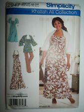 Dress Pants Khaliah Ali Simplicity Sewing Pattern 2947 Size FF 18W 20W 22W 24W