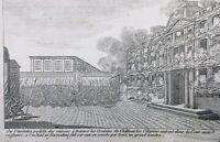 Gardes Suisses 1792 fusillade des Sans Culottes Tuileries Paris révolution
