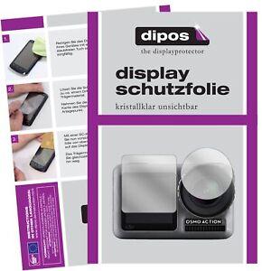 Schutzfolie für DJI Osmo Action Display Folie klar Displayschutzfolie
