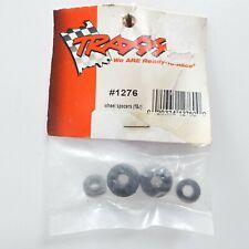 RC Traxxas Black Wheel Spacers (2) 1276