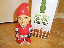 NIB St Louis Cardinals Yadier Molina Garden Gnome SGA 2016 Yadi No Bobblehead