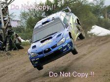 Petter Solberg Subaru Impreza World Rally Championship Photograph