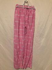 New England Patriots NFL Girls Pink Pajama Pants Size Large