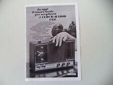 advertising Pubblicità 1968 CGE CLOCK RADIO