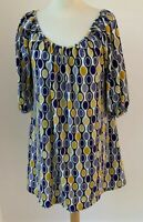 Beautiful ICHI  Print Shift Dress/Tunic Size S Multi Coloured - Above the knee