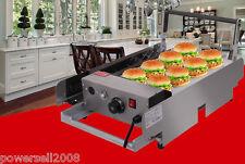 Hamburger Machine Batch Bun Toaster Double-deck Stainless Steel Food Heating #5