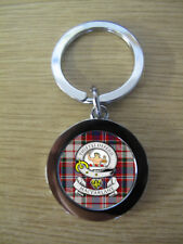 MAC FARLANE CLAN KEY RING (METAL) IMAGE DISTORTED TO PREVENT INTERNET THEFT
