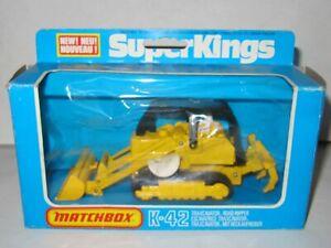 MATCHBOX SUPERKINGS K-42 TRAXCAVATOR ROAD RIPPER MIB