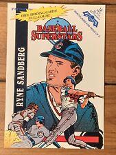 Ryne Sandberg Baseball Superstars Comic Book