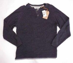 Weatherproof Vintage Men's Ottoman Stitch Henley Sweater Size M $75