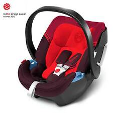 Cybex Aton 3S Group 0+ Car Seat - From Birth Baby To 15 Months - Strawberry