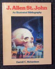 1991 J ALLEN ST JOHN An Illustrated History by Richardson 1st Mid-America SC VF