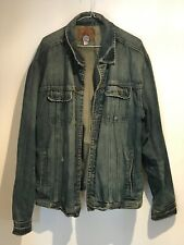 USED Vintage Old Navy 'Blue Jeans' Mens Denim Jacket (XL) Autumn/Fall 2004 (USA)