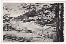 0240 TORINO CLAVIERE - NEVE Cartolina FOTOGRAFICA viaggiata 1949