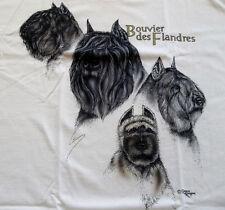 """Bouvier des Flandres T-shirt """" Natural """" 2Xl ( 50 - 52 )"""