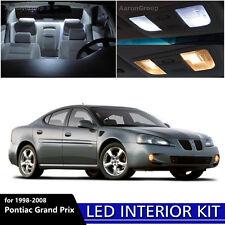 9PCS White Interior LED Light Package Kit for 1998-2008 Pontiac Grand Prix