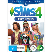 The Sims 4 City Living PC MAC *ORIGIN DOWNLOAD CODE* READ DESCRIPTION*
