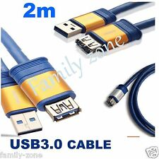USB 3.0 Extension Cable 2m Super Speed Extension Cable A Male to A Female USB3.0