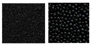 100g 1mm or 4mm Black Sugar Pearls Dragees Cupcake Decoration Sprinkles balls