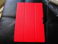 FYY Microsoft Surface PRO 3 Tablet Folio Book Cover Case Magnetic On/Off RED