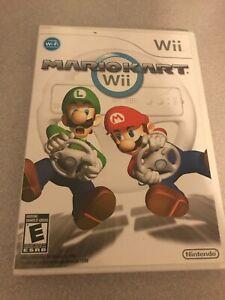 Nintendo Wii Mario kart wii game ( low shipping )