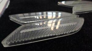 Porsche panamera side marker clear euro style lense 970 turbo carbon fiber usa