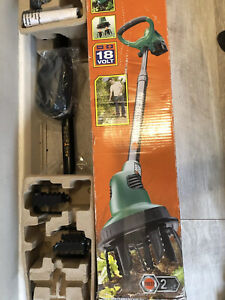 Black & Decker GXC1000 Cordless 18V Power Hoe Cultivator + Battery & Charger NEW