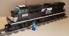 Lego Train Custom Norfolk Southern ES44ac - PLEASE READ ITEM DESCRIPTION