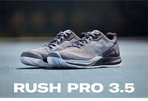 Wilson Rush Pro 3.5 M Men's Tennis Shoes Black Racquet Racket NWT WRS327170