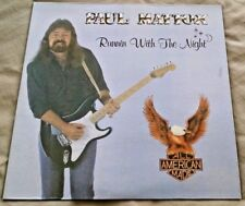 Paul Mattox - Runnin With the Night LP private press southern rock NM
