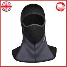 ROTTO Motorcycle Balaclava Waterproof Black Motorbike Ski Cycling Outdoor...