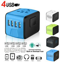 NEW Key Power 220V to 110V Voltage Converter International Travel Adapter Europe