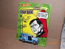 2014 HOTWHEELS STAR TREK SCOTTY CUSTOM 52 CHEVY  FREE U.S SHIPPING