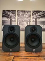 Q Acoustics 3020 Bookshelf Speaker Pair (Graphite)