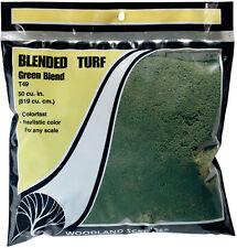 Woodland Scenics T49 Blended Turf Green Blend