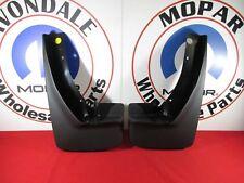 DODGE RAM 1500 2500 3500 FRONT Splash Guards w/ Fender Flares NEW OEM MOPAR