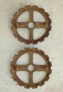 J I Case P2074 Extra Small 16 Hole Planter Seed Plates Set of 2