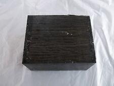 Russian Bog Oak Woodturning/ Smoking Pipe Morta Block Blank 5460 Years Old