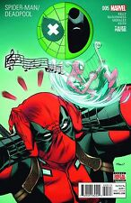 SPIDERMAN DEADPOOL 5 3rd PRINT VARIANT AMAZING DEADPOOL MOVIE
