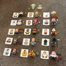 """Family Guy Kidrobot 3"""" Vinyl Figures Full Set Of 17"""