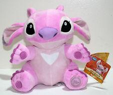 "Lilo & Stitch 10"" PINK ANGEL 10"" Plush Toy Doll Experiment 624 Disney Store NEW"